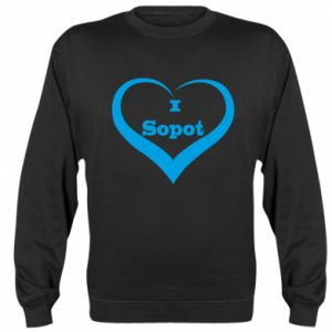 Sweatshirt I love Sopot