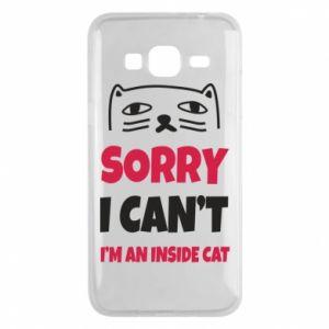 Etui na Samsung J3 2016 Sorry, i can't i'm an inside cat
