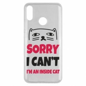 Etui na Huawei Y9 2019 Sorry, i can't i'm an inside cat