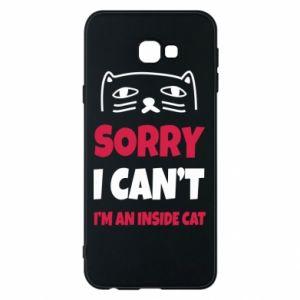 Etui na Samsung J4 Plus 2018 Sorry, i can't i'm an inside cat