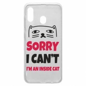 Etui na Samsung A30 Sorry, i can't i'm an inside cat