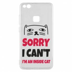 Etui na Huawei P10 Lite Sorry, i can't i'm an inside cat