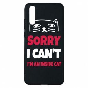 Etui na Huawei P20 Sorry, i can't i'm an inside cat