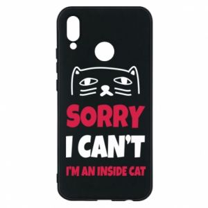 Etui na Huawei P20 Lite Sorry, i can't i'm an inside cat