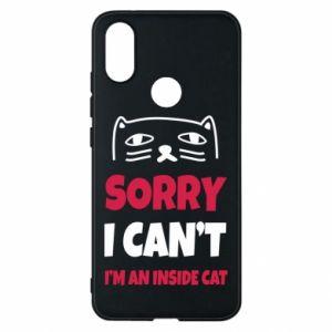 Etui na Xiaomi Mi A2 Sorry, i can't i'm an inside cat