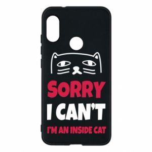 Etui na Mi A2 Lite Sorry, i can't i'm an inside cat