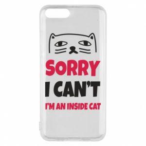 Etui na Xiaomi Mi6 Sorry, i can't i'm an inside cat