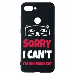 Etui na Xiaomi Mi8 Lite Sorry, i can't i'm an inside cat