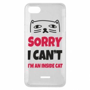 Etui na Xiaomi Redmi 6A Sorry, i can't i'm an inside cat