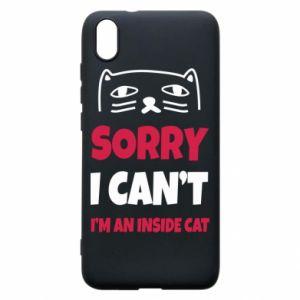 Etui na Xiaomi Redmi 7A Sorry, i can't i'm an inside cat