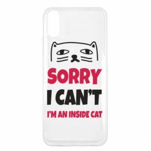 Etui na Xiaomi Redmi 9a Sorry, i can't i'm an inside cat
