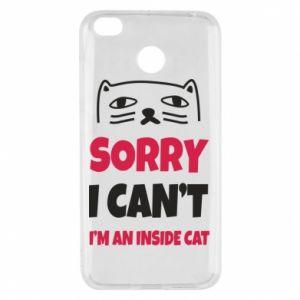Etui na Xiaomi Redmi 4X Sorry, i can't i'm an inside cat
