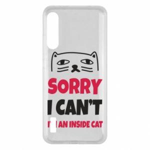 Etui na Xiaomi Mi A3 Sorry, i can't i'm an inside cat