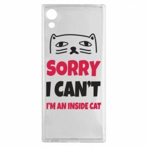 Etui na Sony Xperia XA1 Sorry, i can't i'm an inside cat