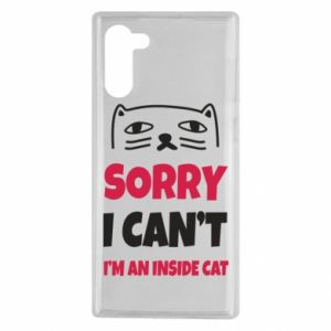 Etui na Samsung Note 10 Sorry, i can't i'm an inside cat