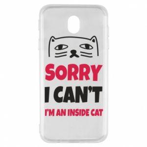 Etui na Samsung J7 2017 Sorry, i can't i'm an inside cat
