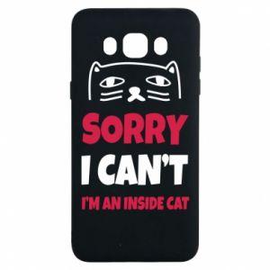 Etui na Samsung J7 2016 Sorry, i can't i'm an inside cat