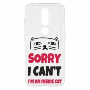 Etui na Nokia 4.2 Sorry, i can't i'm an inside cat