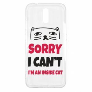 Etui na Nokia 2.3 Sorry, i can't i'm an inside cat