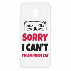 Etui na Nokia 2.2 Sorry, i can't i'm an inside cat