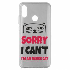 Etui na Huawei Honor 10 Lite Sorry, i can't i'm an inside cat