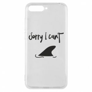 Etui na Huawei Y6 2018 Sorry i can't