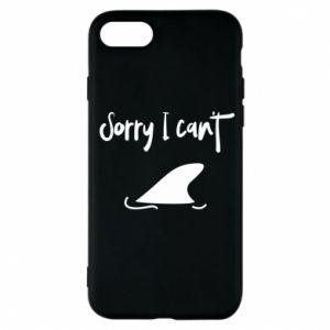 Etui na iPhone 7 Sorry i can't