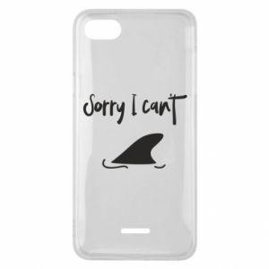 Etui na Xiaomi Redmi 6A Sorry i can't