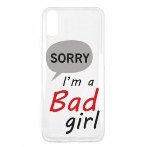 Etui na Xiaomi Redmi 9a Sorry, i'm a bad girl