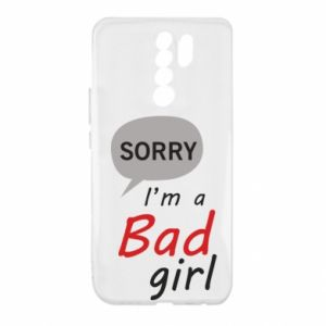 Etui na Xiaomi Redmi 9 Sorry, i'm a bad girl
