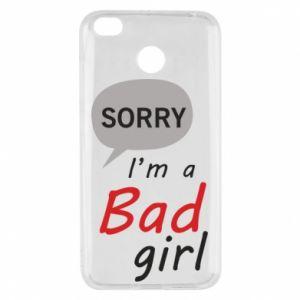 Etui na Xiaomi Redmi 4X Sorry, i'm a bad girl