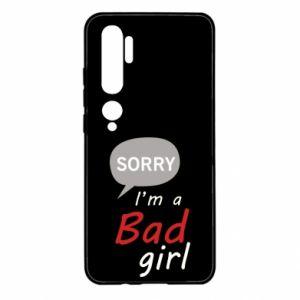 Etui na Xiaomi Mi Note 10 Sorry, i'm a bad girl