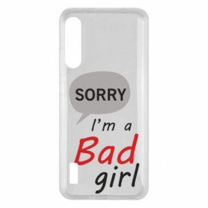 Etui na Xiaomi Mi A3 Sorry, i'm a bad girl
