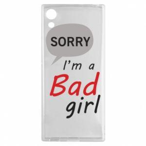 Etui na Sony Xperia XA1 Sorry, i'm a bad girl
