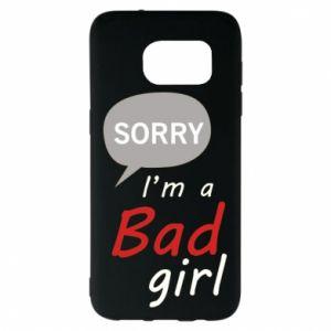 Etui na Samsung S7 EDGE Sorry, i'm a bad girl