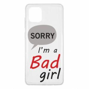 Etui na Samsung Note 10 Lite Sorry, i'm a bad girl