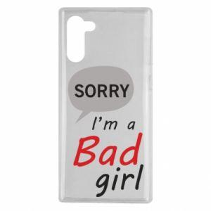 Etui na Samsung Note 10 Sorry, i'm a bad girl