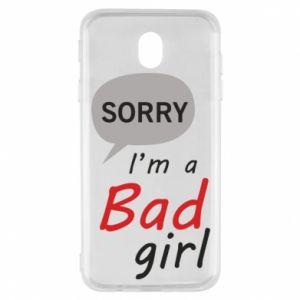 Etui na Samsung J7 2017 Sorry, i'm a bad girl