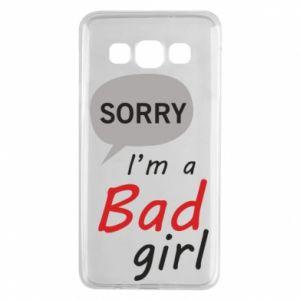 Etui na Samsung A3 2015 Sorry, i'm a bad girl
