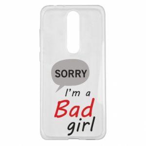 Etui na Nokia 5.1 Plus Sorry, i'm a bad girl