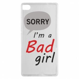 Etui na Huawei P8 Sorry, i'm a bad girl