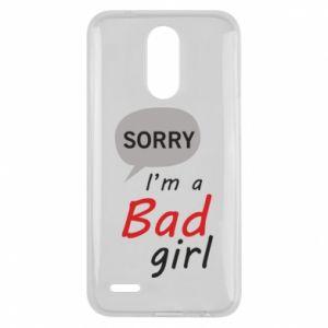 Etui na Lg K10 2017 Sorry, i'm a bad girl