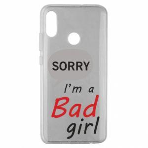 Etui na Huawei Honor 10 Lite Sorry, i'm a bad girl
