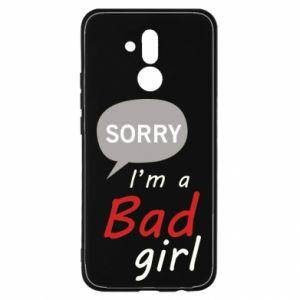 Etui na Huawei Mate 20 Lite Sorry, i'm a bad girl