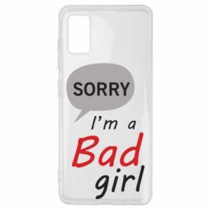 Etui na Samsung A41 Sorry, i'm a bad girl