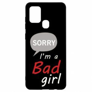 Etui na Samsung A21s Sorry, i'm a bad girl