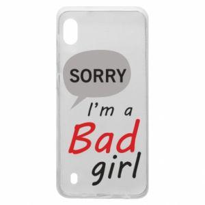 Etui na Samsung A10 Sorry, i'm a bad girl