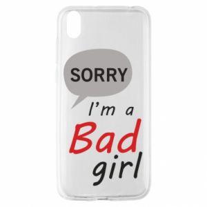 Etui na Huawei Y5 2019 Sorry, i'm a bad girl