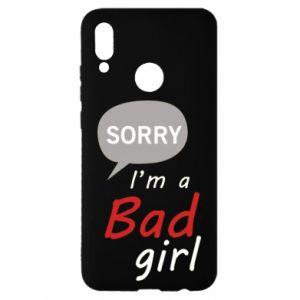 Etui na Huawei P Smart 2019 Sorry, i'm a bad girl