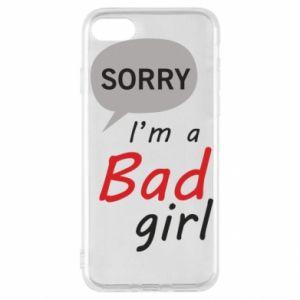 Etui na iPhone SE 2020 Sorry, i'm a bad girl